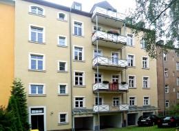 Hornstraße 11 Rückseite Freiberg